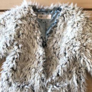 Fuzzy jacket/cardigan